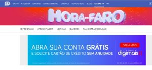 Inscrições Hora do Faro 2020 pelo site R7